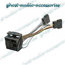 Volkswagen VW RCD500 Retro Fit Adaptor Wiring Harness Lead ISO to Quadlock