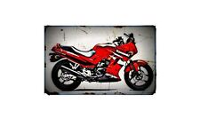 1987 gpz250r Bike Motorcycle A4 Photo Poster
