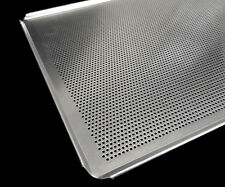 5x OVEN TRAYS 600x400mm UNOX LEVENTI MIWE ALUMINUM WITH HOLES