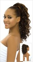 Synthetic Hair Drawstring Ponytail Hairpiece with Clip - HELEN