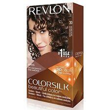 Revlon ColorSilk Beautiful Permanent Hair Color (30) Dark Brown