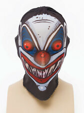Clown Stretch Mask Full Face Scary Spooky Halloween Fancy Dress Accessory