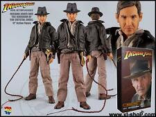 "MEDICOM 1/6th 12"" Indiana Jones Cristal Cráneo Figura De Acción Real"