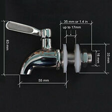 Stainless steel Spigot Tap Faucet for Wine Barrel Drink Beverage Dispenser