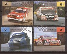 ARGENTINA CARS RALLY CHAMPIONS TOYOTA FORD SET MINT