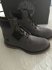 Timberland '6 Inch Premium' Waterproof Boot Women Forest Night (Gray) Size 8 New