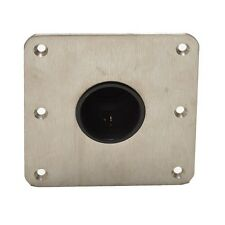 LUND 2130973 STAINLESS STEEL 7 X 7 INCH 2 3/8 PIN BOAT SEAT BASE