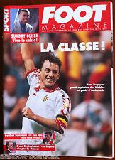 FOOT Magazine du 5/4/1995; Franz Beckenbauer/ Gunther Schepens/ Sunday Oliseh