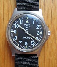 CWC G10 1995 ROYAL MARINES MILITARY ISSUED QUARTZ WATCH NEW BATT & NATO STRAP