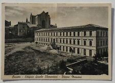 Cartolina Orvieto Edificio Scuole Elementari Piazza Marconi Non Viaggiata