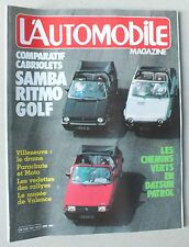 L AUTOMOBILE MAGAZINE - N° 432 - JUIN 1982 *