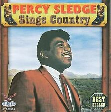 Sings Country by Percy Sledge (CD, Jun-2008, Gusto Records)