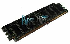 1GB 2X 512MB PC3200 DDR 184 pin DIMM Low Density Desktop Memory 400MHz