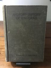 A Short History of England Cheyney 1904 Illustrated School Book Antique