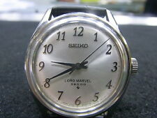RARE Authentic Vintage SEIKO Lord Marvel  Hi-Beat 3600 BPH SS  Watch