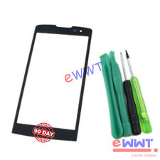 Black Front Cover Screen Glass Lens +Tools for LG Leon 4G LTE H320 H340N ZVGS320