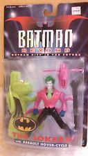Batman Beyond The Jokerz Action Figure & Assault Hover-Cycle New 1999 By Hasbro