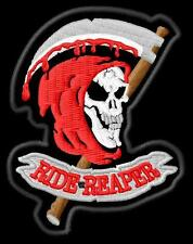 Ride with the Reaper Aufnäher iron-on patch