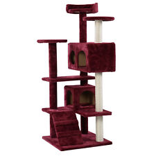 Cat Tree Tower Condo Furniture Scratch Post Kitty Pet House Play Wine New