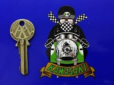 KAWASAKI CAFE RACER MOTO MOTORCYCLE AUTOCOLLANT STICKER