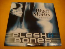 Cardsleeve Single CD FLESH & BONES Rigor Mortis 2TR 2001 eurodance REGI MILK INC