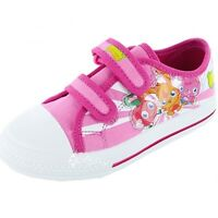 Girls Moshi Monsters Online Canvas Trainers Shoe Sizes 8-2