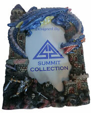"Summit Collection 4935 - DRAGON PICTURE FRAME - 3X5"" Fantasy Mythical Figure NEW"