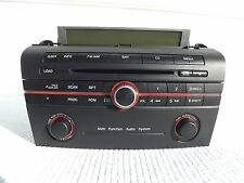 "2007 Mazda 3 ""Multi Function Audio System"" CD player with top mount  info screen"