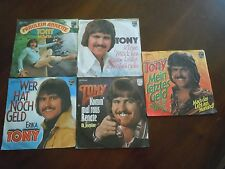 "TONY  5 x  7""  GERMAN Singles Sammlung"