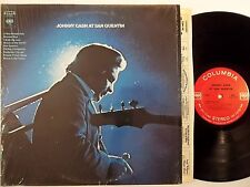 JOHNNY CASH At San Quentin COLUMBIA LP nice shrink original 1A 2 eye