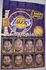 2000 NBA Lakers Champions Decorative Banner 27 x 41 in. size. Made in USA