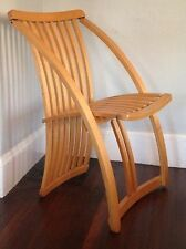 Rare Thomas Lamb Steamer Chair Mid Century Modern Folding Bentwood Nakashima Era