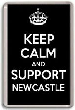 KEEP CALM AND SUPPORT NEWCASTLE, NEWCASTLE UNITED FOOTBALL TEAM Fridge Magnet