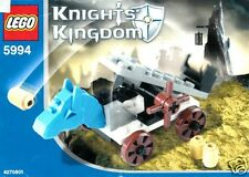 Lego Knights Kingdom Castle 5994 catapulta