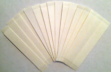 "3M Clear 1522 1/2"" x 3"" straight strips (108 total) hairpiece wig toupee tape"