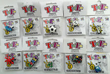 10x Boys / Childrens Party Bag / Pinata Fillers (Kids Shoe charms) + stickers