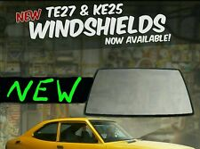 1971 1972 1973 1974 ke25 TE27 Toyota Corolla NEW windshield glass