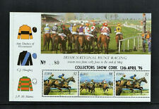 1996  DX165  CORK   EXHIBITION  HORSE RACING SHEETLET  PANE - SCARCE