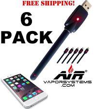(6) Lil Bud E Pen Touch Stylus - *6 PACK* BLACK Open Vape Pen 3rd Gen 510