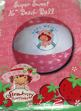 """Strawberry Shortcake Inflatable Beach Ball 16"""" / Pool Toy"""