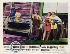 Warren Beatty Leslie Caron Robert Cummings Lobby Card PROMISE HER ANYTHING (1966