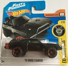 Hot Wheels NEW 2017 Fast And Furious 7 Doms '70 Dodge Charger Off Road VHTF MINT