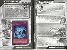 Justi-Break SP02-EN004 Sneak Peek Card & Manga YuGiOh Promo near mint