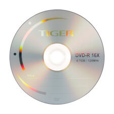 1000 ct 16X Logo Top Blank DVD-R DVDR Disc Storage Media 4.7GB, Made in Taiwan