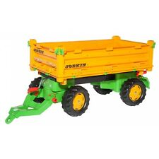 Rolly Toys Joskin Multi-Trailer Anhänger Kipper Trailer orange