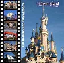 100 Hi-Definition Royalty Free Disneyland Paris digital photographs (NEW)