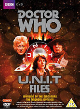 DOCTOR WHO - U.N.I.T FILES - DVD - REGION 2 UK
