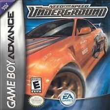 Need for Speed Underground Nintendo Game Boy Advance GBA *FAST FREE SHIPPING