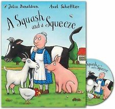 A Squash and a Squeeze Book and CD pack by Julia Donaldson()Axel Scheffler()