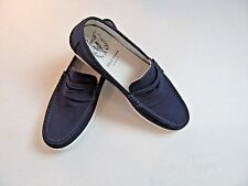 $78 New  Cole Haan Pinch LTE Penny Loafers  peacoat blue w/ rubber sole 9 M